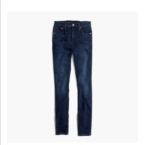 "10"" High Rise Skinny Jean In Hayes Wash"